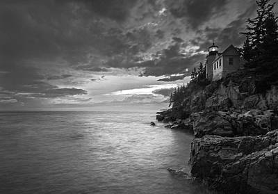Photograph - Maine Bass Harbor Head Light by Juergen Roth