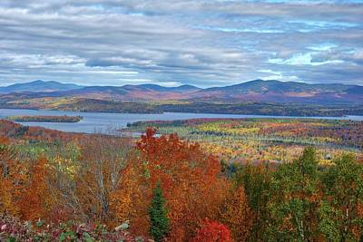 Maine Fall Colors Art Print