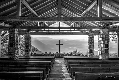 Photograph - Majestic Beauty 2 B W Pretty Place Chapel Symmes Chapel Art by Reid Callaway