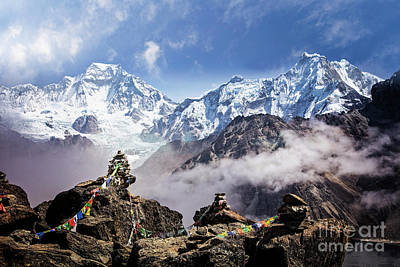 Photograph - Majestic Cho Oyu by Scott Kemper