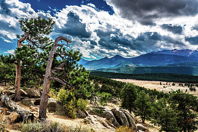 Photograph - Majestic Clouds by James L Bartlett