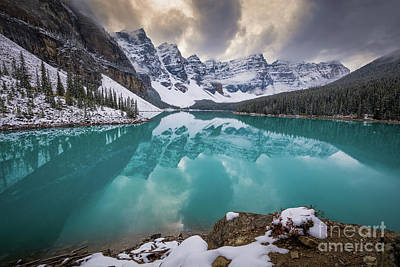 Photograph - Majestic Moraine Lake by Inge Johnsson