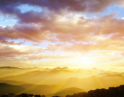 Photograph - Majestic Sunset by Alexsava