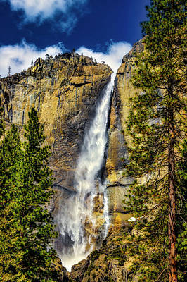 Photograph - Majestic Upper Yosemite Fall by Garry Gay