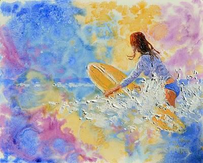 Lynee Sapere Wall Art - Photograph - Make A Splash by Lynee Sapere