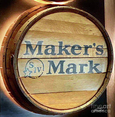 Photograph - Makers Mark Barrel by CAC Graphics