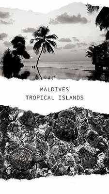 Photograph - Maldives. Tropical Islands Poster 1 by Jenny Rainbow
