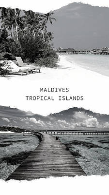 Photograph - Maldives. Tropical Islands Poster 2 by Jenny Rainbow