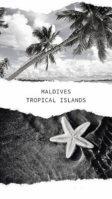 Photograph - Maldives. Tropical Islands Poster by Jenny Rainbow