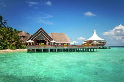 Photograph - Maldivian Luxury  by Jenny Rainbow