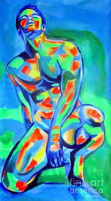 Painting - Male Distinctive Beauty by Helena Wierzbicki