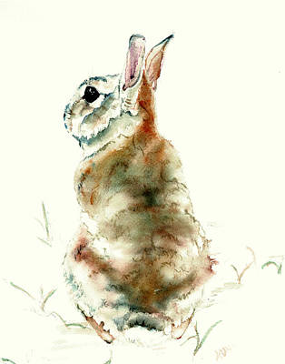 Painting - Male Rabbit by Philip and Karen Rispin