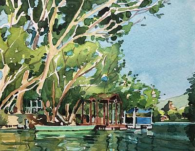 Animal Watercolors Juan Bosco - East Lakeshore  by Luisa Millicent