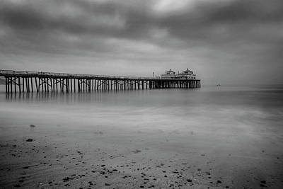 Photograph - Malibu Pier by John Rodrigues