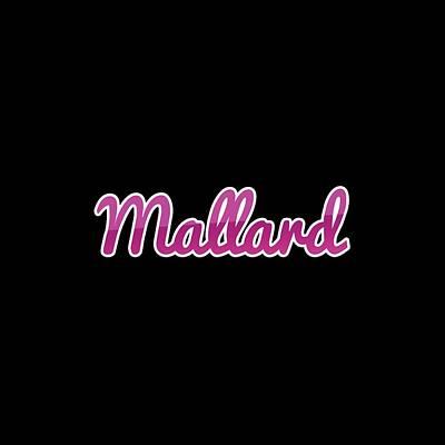 Digital Art Royalty Free Images - Mallard #Mallard Royalty-Free Image by TintoDesigns