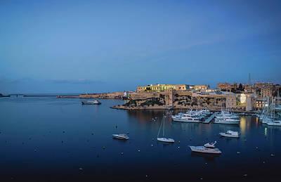 Art Print featuring the photograph Malta Blue 1 by Nisah Cheatham