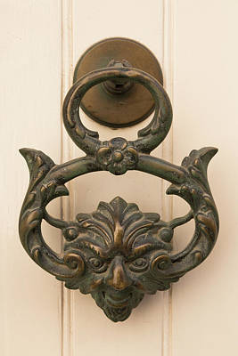 Photograph - Maltese Door Knocker by John Daly