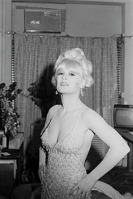 Photograph - Mamie Van Doren by Art Zelin