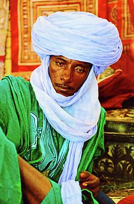 Photograph - Man From Mali. by Bill Jonscher