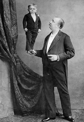 Photograph - Man Handling by London Stereoscopic Company