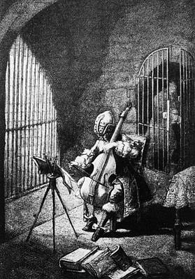 Man In The Iron Mask Art Print by Hulton Archive