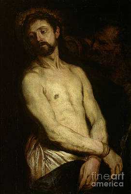 Painting - Man Of Sorrows, Ecce Homo by Anthony van Dyck