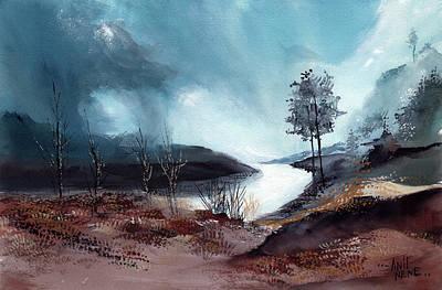 Painting - Manali 7 by Anil Nene