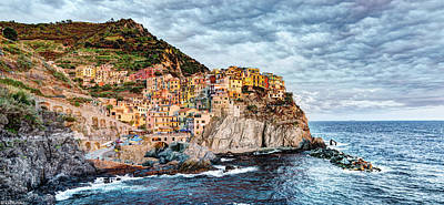 Photograph - Manarola Sunset by Weston Westmoreland