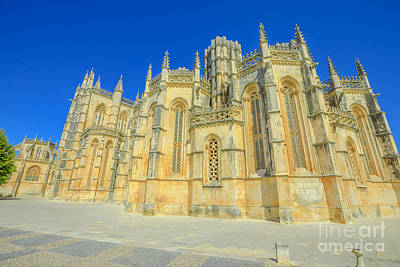 Photograph - Manastery Batalha Portugal by Benny Marty