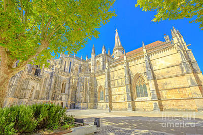 Photograph - Manastery Batalha Unesco Heritage by Benny Marty