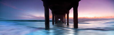 Photograph - Manhattan Beach Pastels by Sean Davey