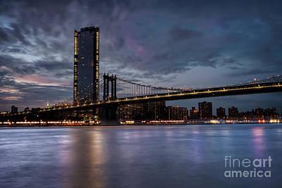 Photograph - Manhattan Bridge by Hernan Bua