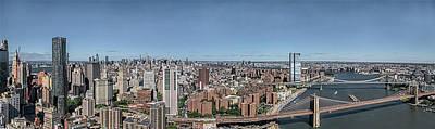 Photograph - Manhattan East - Oct 2018 by S Paul Sahm