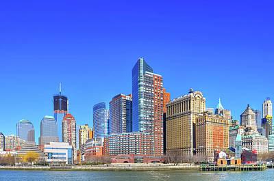 Financial District Photograph - Manhattan Financial District by C.e. Seo