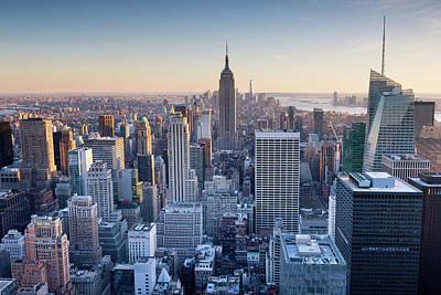 Manhattan Skyline Art Print by Chris Hepburn