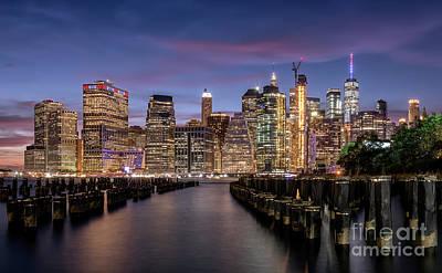 Photograph - Manhattan Skyline by Hernan Bua