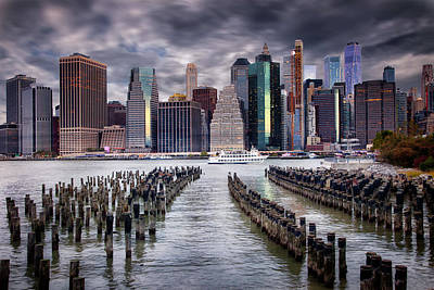 Photograph - Manhattan Skyline by Jacqui Boonstra