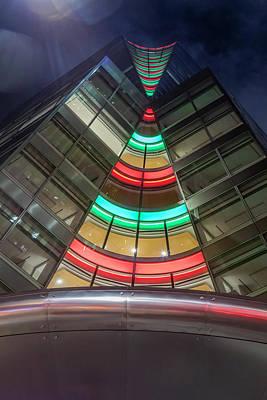 Photograph - Manhattan's Festive Modern Architecture by Susan Candelario