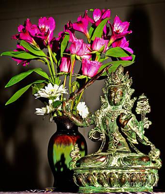 Photograph - Manjushri- Bodhisattva Of Wisdom by Lita Kelley