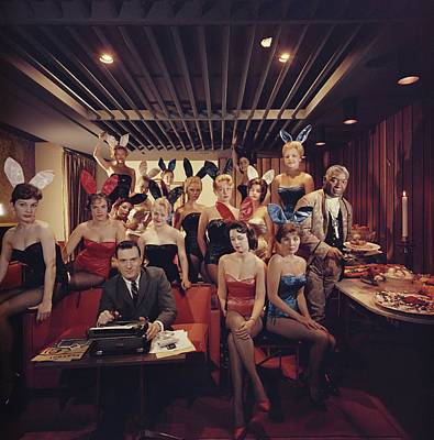 Indoors Photograph - Mans Work by Slim Aarons