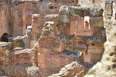 Photograph - Many Colosseum Levels by JAMART Photography