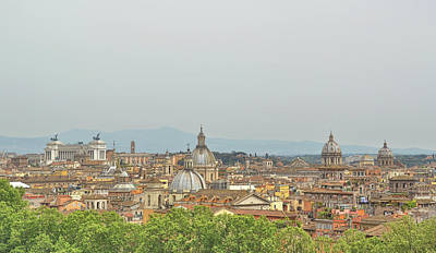Photograph - Many Domes Of Rome by Jamart Photography