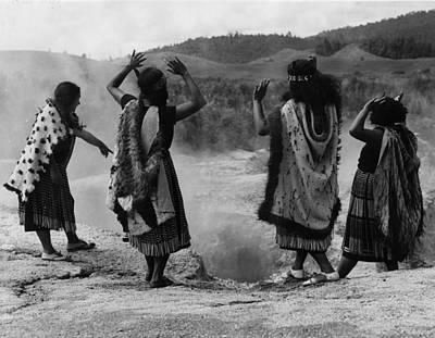 Photograph - Maori Prayer by Fox Photos