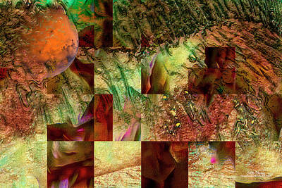 Digital Art - Mapping The Planet by Mike Braun
