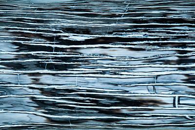 Beer Blueprints - Marbled stone background stripes pattern by Sina Vodjani