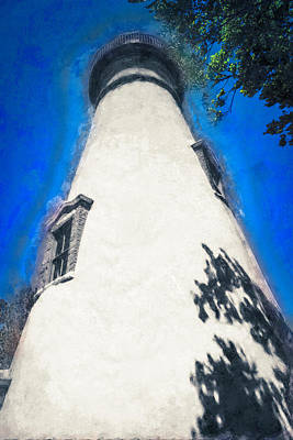 Marblehead Ohio Light Art Print