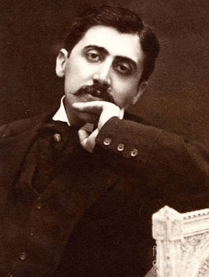 Photograph - Marcel Proust, French Novelist by French School