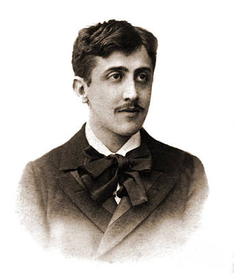 Photograph - Marcel Proust  by French School