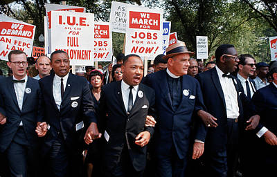 I Have A Dream Wall Art - Photograph - March On Washington For Jobs And Freedom by Robert W. Kelley