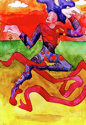 Studio Grafika Zodiac - Mardi Gras Jester by Genevieve Esson